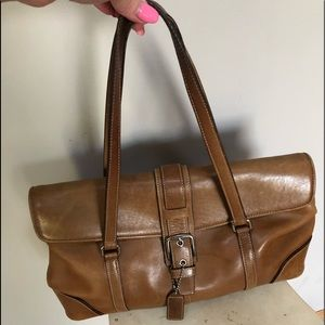 Coach leather gorgeous bag